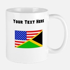 Jamaican American Flag Mugs