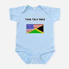 Jamaican American Flag Body Suit