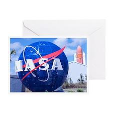 NASA Globe Greeting Card