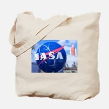 NASA Globe Tote Bag
