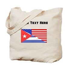 Cuban American Flag Tote Bag