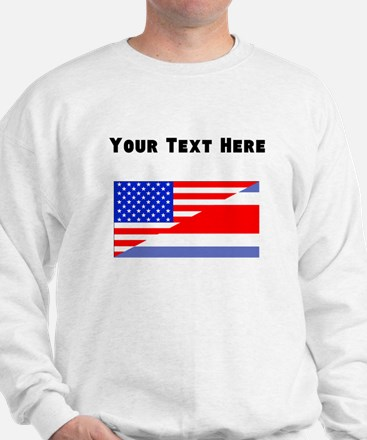 Costa Rican American Flag Jumper