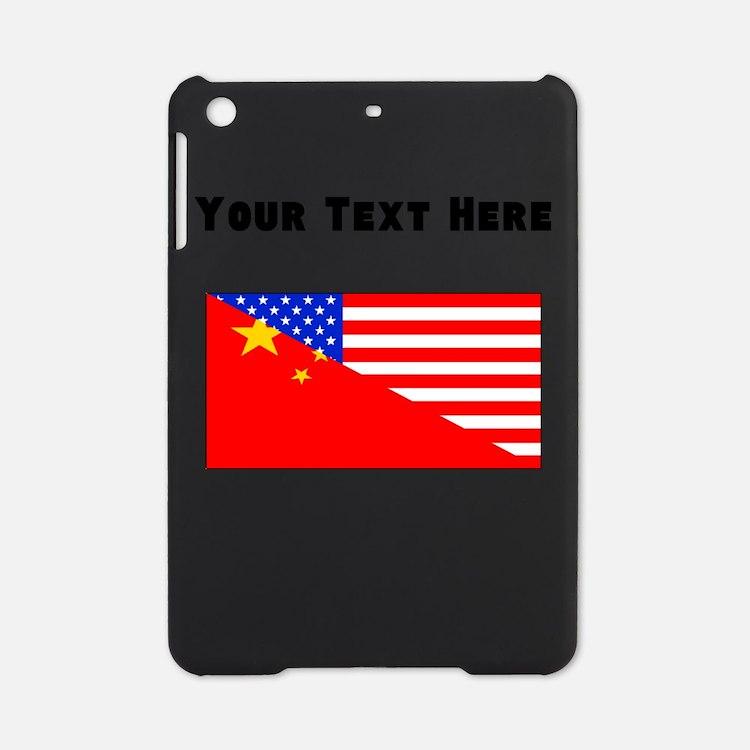 Chinese American Flag iPad Mini Case