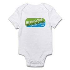 Redwoods National Park (green Infant Bodysuit