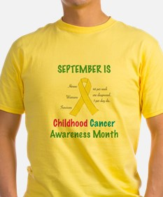 Sept Childhood Cancer Awareness T-Shirt