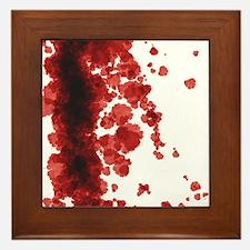 Bloody Mess Framed Tile