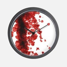 Bloody Mess Wall Clock
