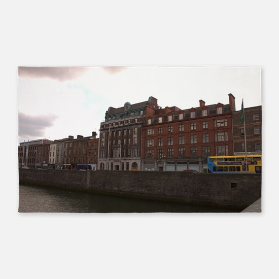 Dublin River Liffey Area Rug