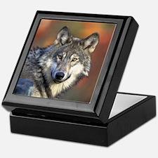 Wolf 022 Keepsake Box