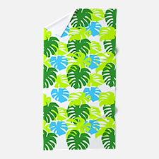 Philodendron Tropics Beach Towel