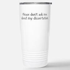 Unique Phd Thermos Mug