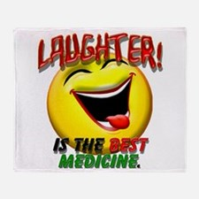 LAUGHTER IS THE BEST MED 1 pract flat.png Throw Bl
