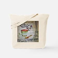 romantic chic paris coffee Tote Bag