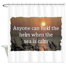 Cute Merchant marine Shower Curtain