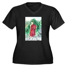 Red Robe Buddhist Monk Plus Size T-Shirt