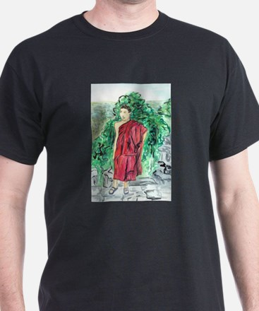 Red Robe Buddhist Monk T-Shirt