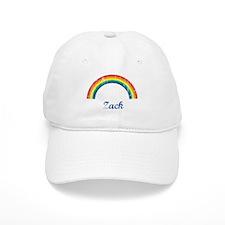 Zack vintage rainbow Baseball Cap