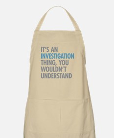 Investigation Thing Apron