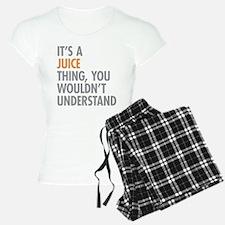 Juice Thing Pajamas