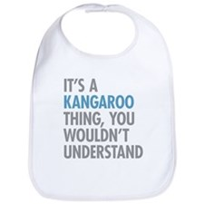 Kangaroo Thing Bib