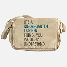 Kindergarten Teacher Thing Messenger Bag