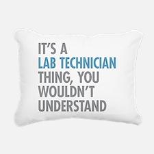Lab Technician Thing Rectangular Canvas Pillow