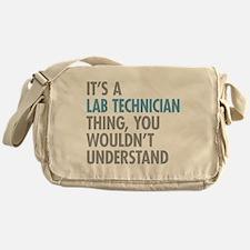 Lab Technician Thing Messenger Bag