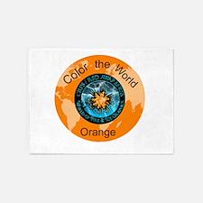 CRPS RSD Color the World Orange 5'x7'Area Rug