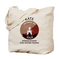 Grounded By Yoga - Personalized Tote Bag - Kate