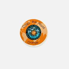 CRPS RSD Color the World Orange Mini Button