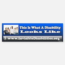 A Disability Looks Like (bumper) Bumper Bumper Bumper Sticker
