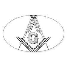 Unique Freemason Decal