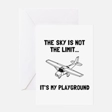 Funny Pilot Greeting Card
