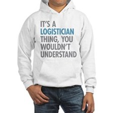 Logistician Thing Hoodie