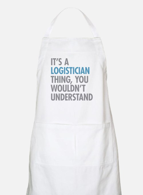 Logistician Thing Apron