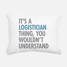 Logistician Thing Rectangular Canvas Pillow