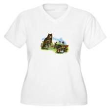 Vintage - Playful Kittens and Cats T-Shirt