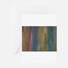 Abstract Flow Greeting Cards