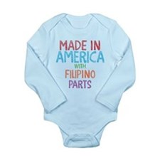 Filipino Parts Body Suit