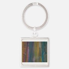 Abstract Flow Keychains