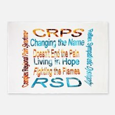 CRPS Changing the Name Doesn't End 5'x7'Area Rug
