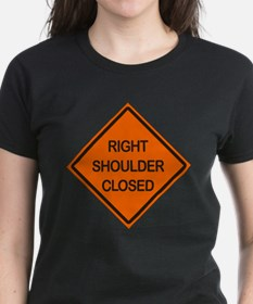 Right Shoulder Closed Tee