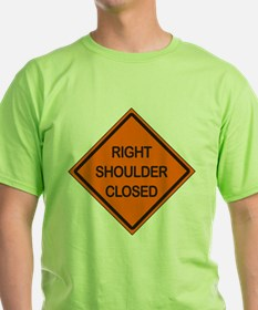 Right Shoulder Closed T-Shirt