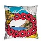 OYOOS Travel Vacation design Everyday Pillow
