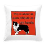 OYOOS Dog Attitude design Everyday Pillow