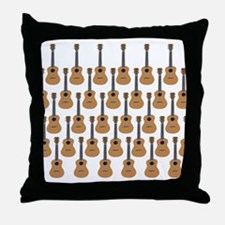 lots of instruments Throw Pillow