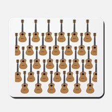 lots of instruments Mousepad