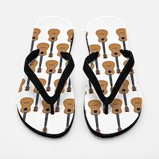 lots of instruments Flip Flops