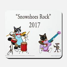 Snowshoe Rock Mousepad