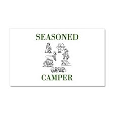 Seasoned Camper Car Magnet 20 x 12